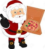 Pizza with Santa Train Ride